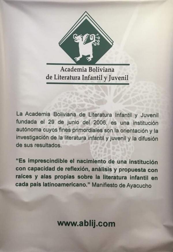 HISTORIA DE LA ACADEMIA BOLIVIANA DE LITERATURA INFANTIL JUVENIL 2006-2016