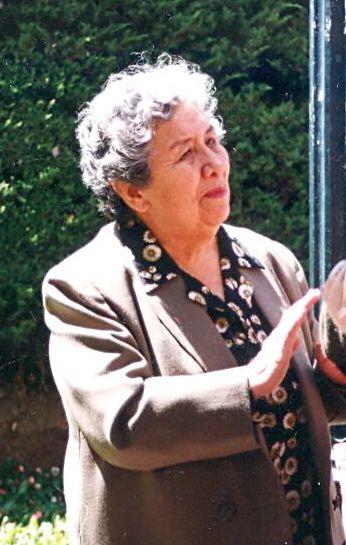 CÁRDENAS, ELDA  ALARCÓN DE (1928 - 2019)