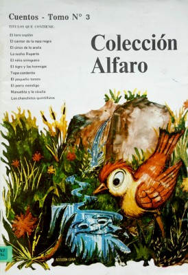 COLECCIÓN ALFARO/CUENTOS-TOMO No.3