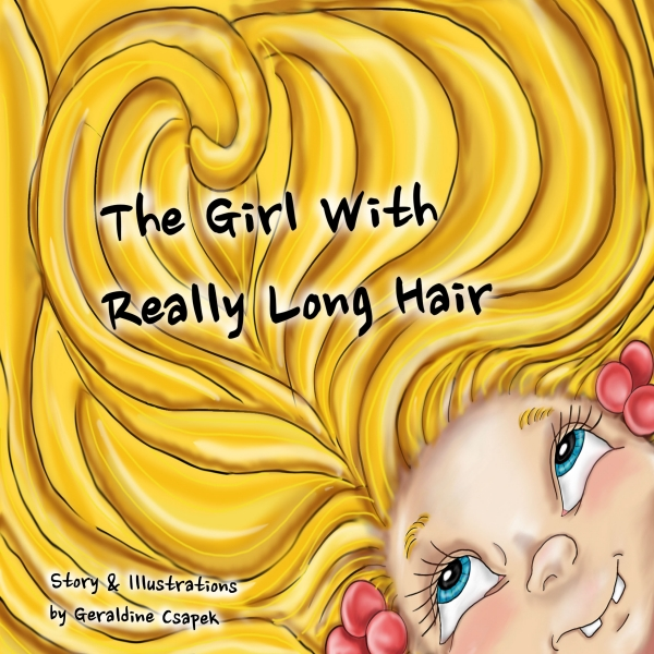 THE GIRL WITH REALLY LONG HAIR