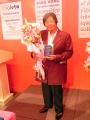 Vuelan vuelan 75: Homenaje a Mercedes Valdivia Delgado (I. Mesa), Colegio Internacional de la Sierra  (L. De la Quintana), Mariposas con alas de papel ( V. Linares)