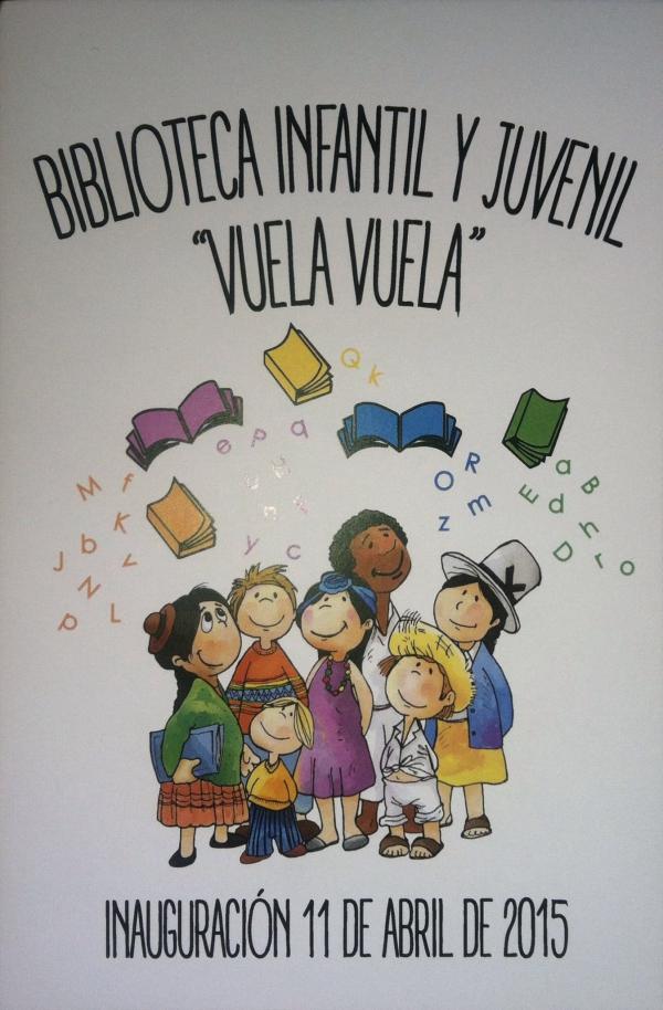 """LA ACADEMIA INAUGURA SU BIBLIOTECA """"VUELAN VUELAN"""""""