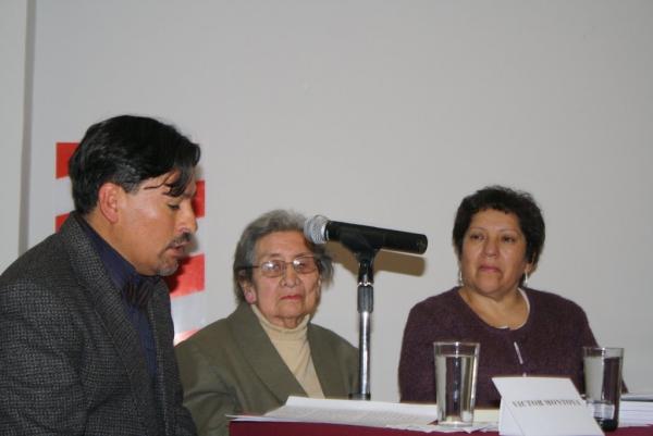 INGRESO A LA ACADEMIA DE ELDA ALARCÓN DE CÁRDENAS 5/9/2012