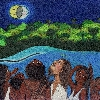 EL CINTURÓN DE ACHANÉ. (Cuento en el libro La flauta de Plata escrito por Isabel Mesa) Ilustración interior. (2005)