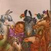 PANQARITA Y LOS ACHACHILAS. (Libro escrito por Liliana De la Quintana) Ilustración interior. (2009).