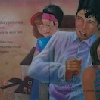 PELUSITA BUSCA UN LUGAR DONDE VIVIR. (Libro escrito por Gaby Vallejo) Ilustración interior. (2002)