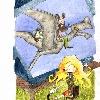 TRAPIZONDA. (Libro escrito por Isabel Mesa) Ilustración interior. (2006)