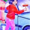 URURI Y LOS SIN CHAPA. Libro de la autora Gladys Dávalos. Ilustración de la tapa.