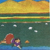 """Ilustración del libro """"Wara intip jump'iyninwan"""" de Gaby Vallejo."""