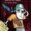 EL VUELO DEL MURCIÉLAGO BARBA DE PÉTALO. (Libro del autor Carlos Vera Vargas). Acuarela, collage y retoque digital (2009).