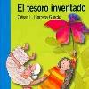 EL TESORO INVENTADO. (Libro escrito por el autor César Herrera) Tapa. (2007).